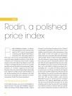 DATA    Rodin, a polished price index    R    odin…