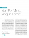 EXHIBITIONS    Yan Pei-Ming, king in Rome  an Pei-Ming…