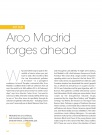 ART FAIR    Arco Madrid forges ahead  hy travel all…