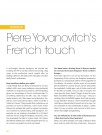 INTERVIEW    Pierre Yovanovitch's French touch  A…