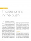 EXHIBITION    Impressionists in the bush  recent…